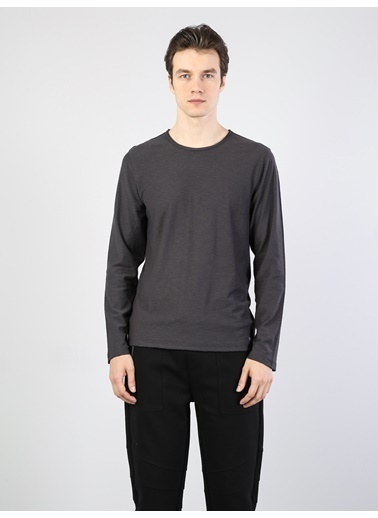 Colin's Uzun Kollu T-Shirt Antrasit